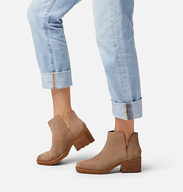 Women's Cate™ Cut-Out Bootie CATE™ CUT OUT | 052 | 10, Ash Brown, video