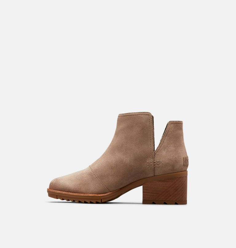 CATE™ CUT OUT | 240 | 6 Women's Cate™ Cut-Out Bootie, Ash Brown, medial