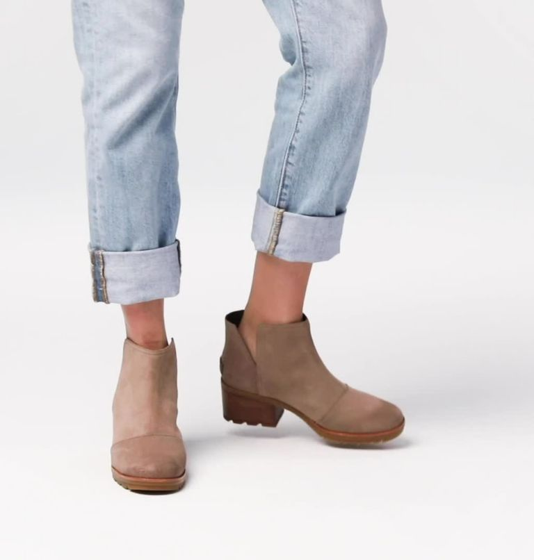 CATE™ CUT OUT | 240 | 6 Women's Cate™ Cut-Out Bootie, Ash Brown, video
