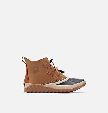 Youth Out N About Plus Duck Boot YOUTH OUT N ABOUT™ PLUS | 052 | 1, Elk, Black, front