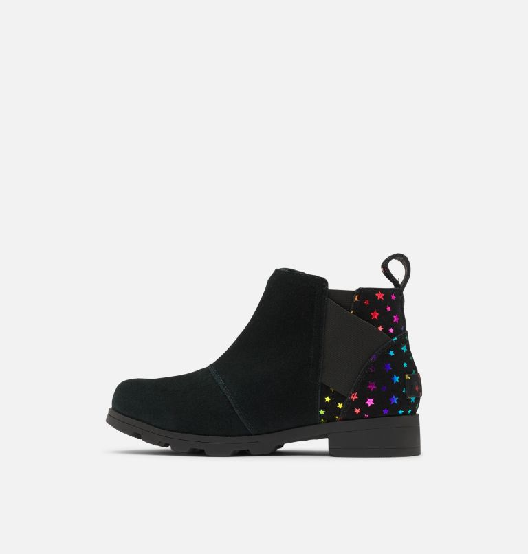 YOUTH EMELIE™ CHELSEA | 010 | 3 Youth Emelie™ Chelsea Bootie, Black, medial