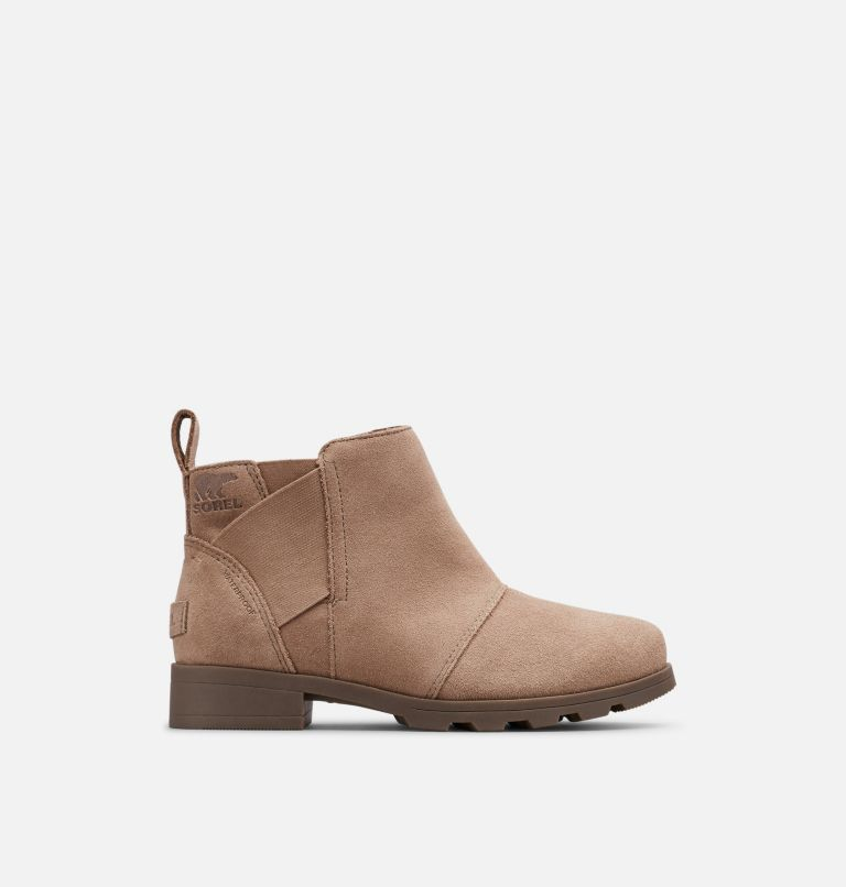 YOUTH EMELIE™ CHELSEA | 240 | 4 Youth Emelie™ Chelsea Bootie, Ash Brown, front
