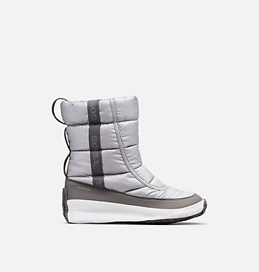 Women's  Out N About™ Puffy Mid OUT N ABOUT™ PUFFY MID | 034 | 5, Pure Silver, front