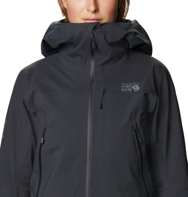 High Exposure™ Gore-Tex C-Knit™ Jacket | 004 | S Women's High Exposure™ Gore-Tex® C-Knit™ Jacket, Dark Storm, a2