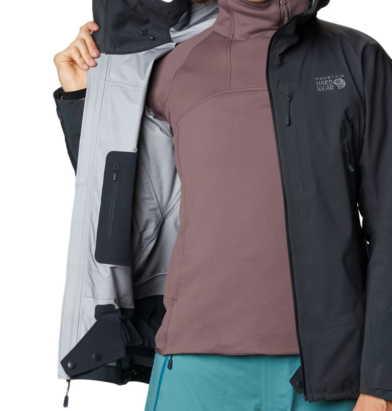 High Exposure™ Gore-Tex C-Knit™ Jacket | 004 | S Women's High Exposure™ Gore-Tex® C-Knit™ Jacket, Dark Storm, a7