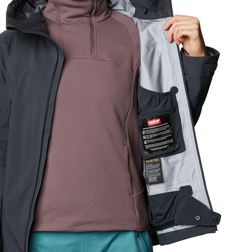 High Exposure™ Gore-Tex C-Knit™ Jacket | 004 | S Women's High Exposure™ Gore-Tex® C-Knit™ Jacket, Dark Storm, a8