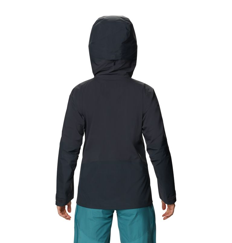 High Exposure™ Gore-Tex C-Knit™ Jacket | 004 | M Women's High Exposure™ Gore-Tex® C-Knit™ Jacket, Dark Storm, back