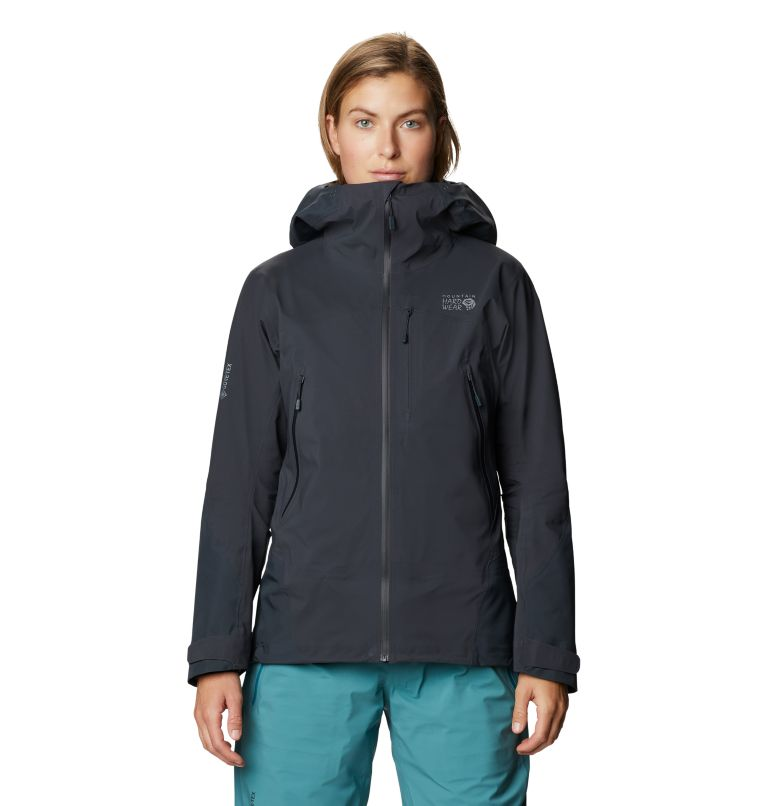 High Exposure™ Gore-Tex C-Knit™ Jacket | 004 | S Women's High Exposure™ Gore-Tex® C-Knit™ Jacket, Dark Storm, front