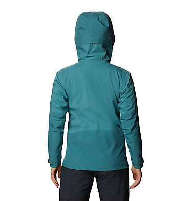 Women's High Exposure™ Gore-Tex® C-Knit™ Jacket High Exposure™ Gore-Tex C-Knit™ Jacket | 004 | L, Washed Turq, back