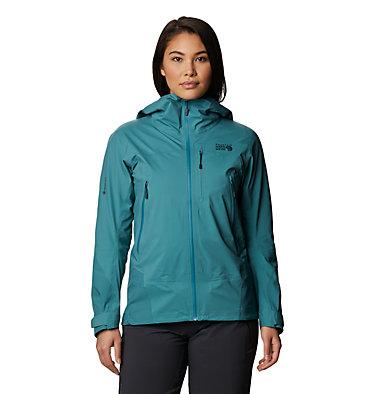 Women's High Exposure™ Gore-Tex® C-Knit™ Jacket High Exposure™ Gore-Tex C-Knit™ Jacket | 004 | L, Washed Turq, front
