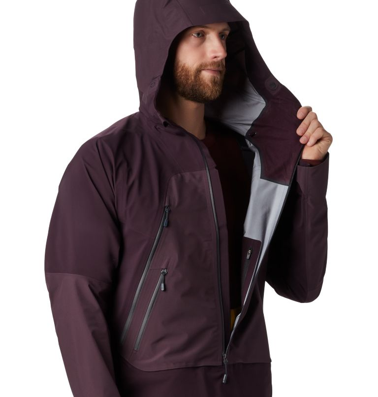 High Exposure™ Gore-Tex® C-Kni | 509 | S Men's High Exposure™ Gore-Tex® C-Knit™ Anorak, Darkest Dawn, a3