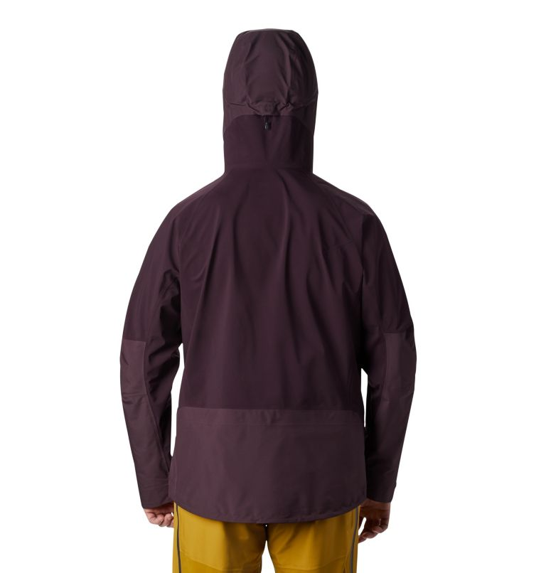 High Exposure™ Gore-Tex® C-Kni | 509 | S Men's High Exposure™ Gore-Tex® C-Knit™ Anorak, Darkest Dawn, back