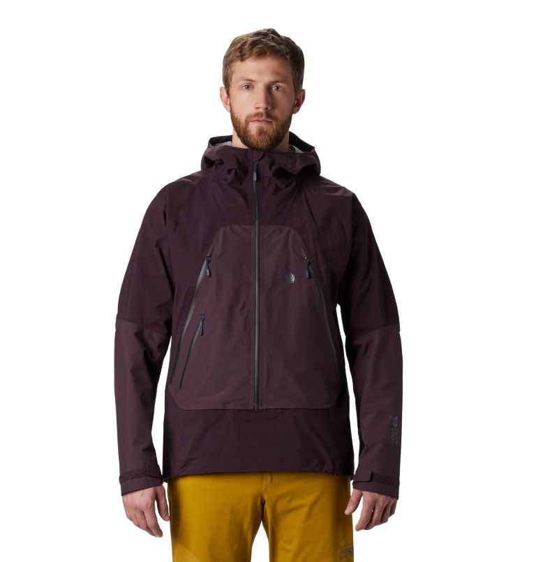 High Exposure™ Gore-Tex® C-Kni | 509 | S Men's High Exposure™ Gore-Tex® C-Knit™ Anorak, Darkest Dawn, front