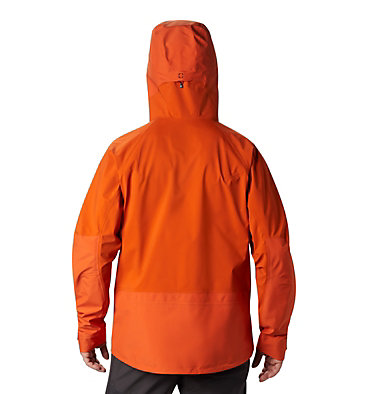 Men's High Exposure™ Gore-Tex® C-Knit™ Anorak High Exposure™ Gore-Tex® C-Kni | 236 | L, Haze Orange, back