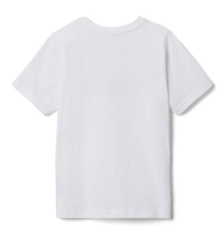 CSC Basic Logo™ Youth Short Sleeve | 102 | XS Youth CSC Basic Logo™ T-shirt, White, back