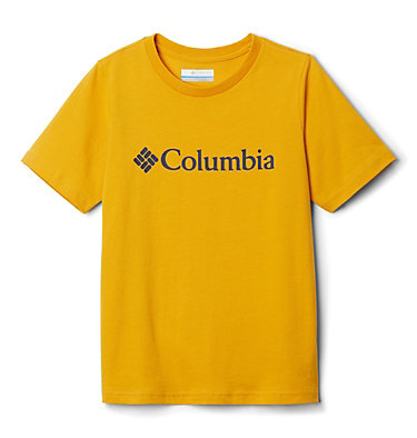 Youth CSC Basic Logo™ T-shirt CSC Basic Logo™ Youth Short Sleeve | 103 | L, Bright Gold, front