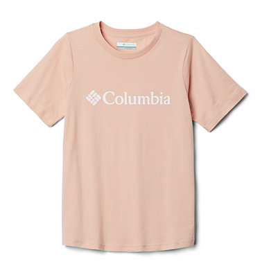 Youth CSC Basic Logo™ T-shirt CSC Basic Logo™ Youth Short Sleeve | 103 | L, Peach Cloud, front