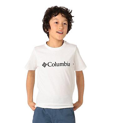 Kids' CSC Basic Logo™ Short Sleeve Shirt CSC Basic Logo™ Youth Short Sleeve | 790 | L, White, front