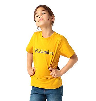 Kids' CSC Basic Logo™ Short Sleeve Shirt CSC Basic Logo™ Youth Short Sleeve | 790 | L, Bright Gold, front