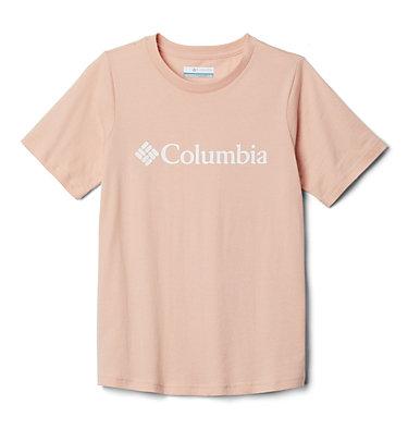 Kids' CSC Basic Logo™ Short Sleeve Shirt CSC Basic Logo™ Youth Short Sleeve | 790 | L, Peach Cloud, front