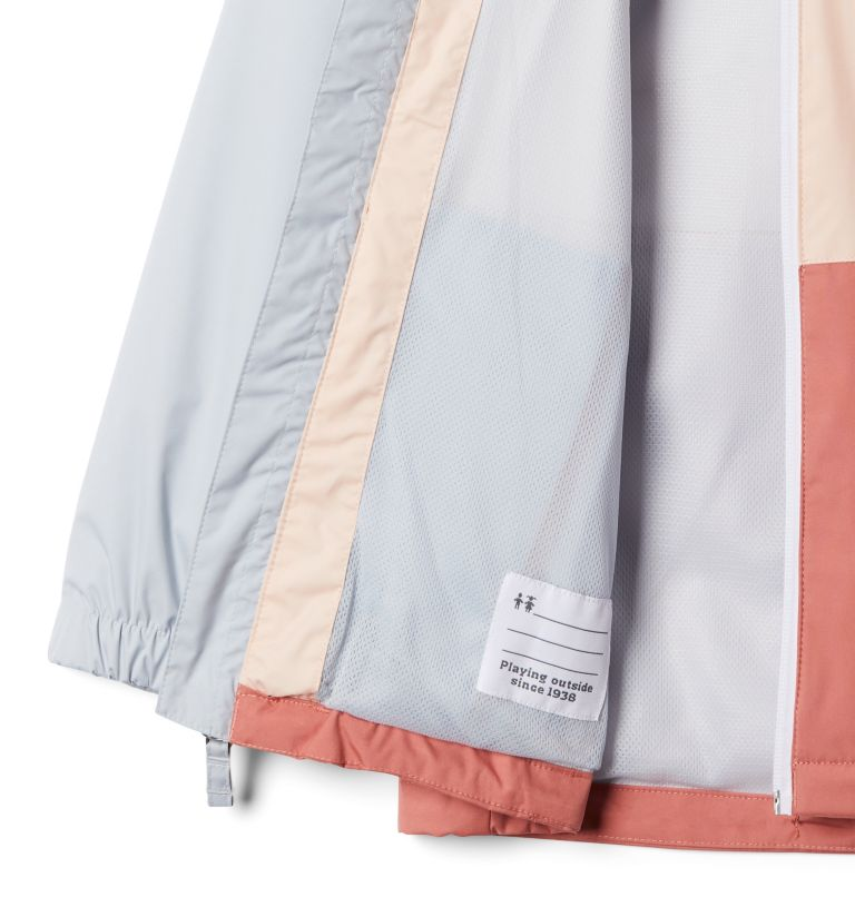 Dalby Springs™ Jacket | 639 | M Youth Dalby Springs™ Jacket, Dark Coral, Peach Cloud, a1