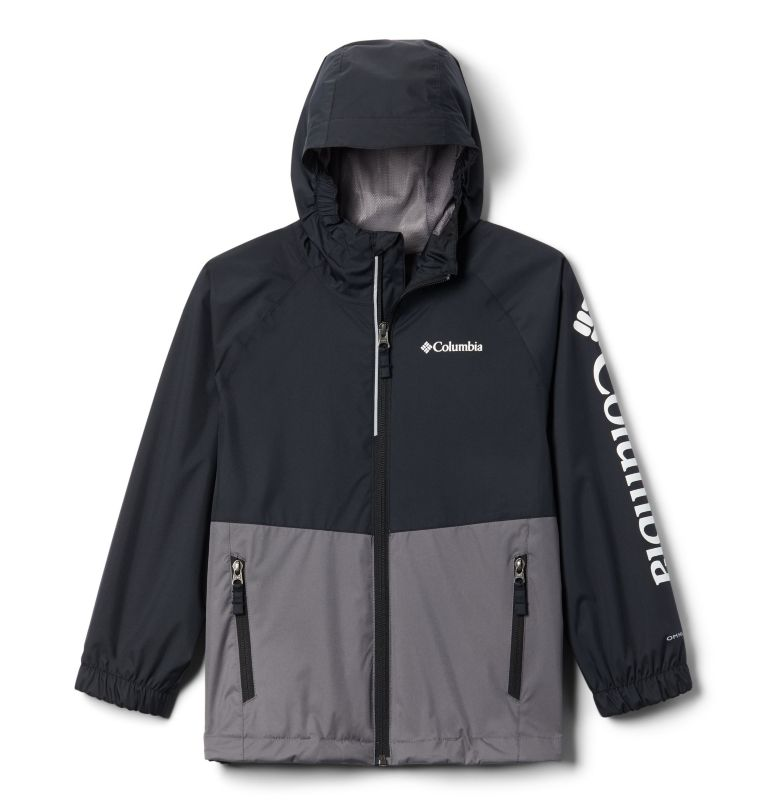 Dalby Springs™ Jacket | 023 | L Kids' Dalby Springs™ Jacket, City Grey, Black, front