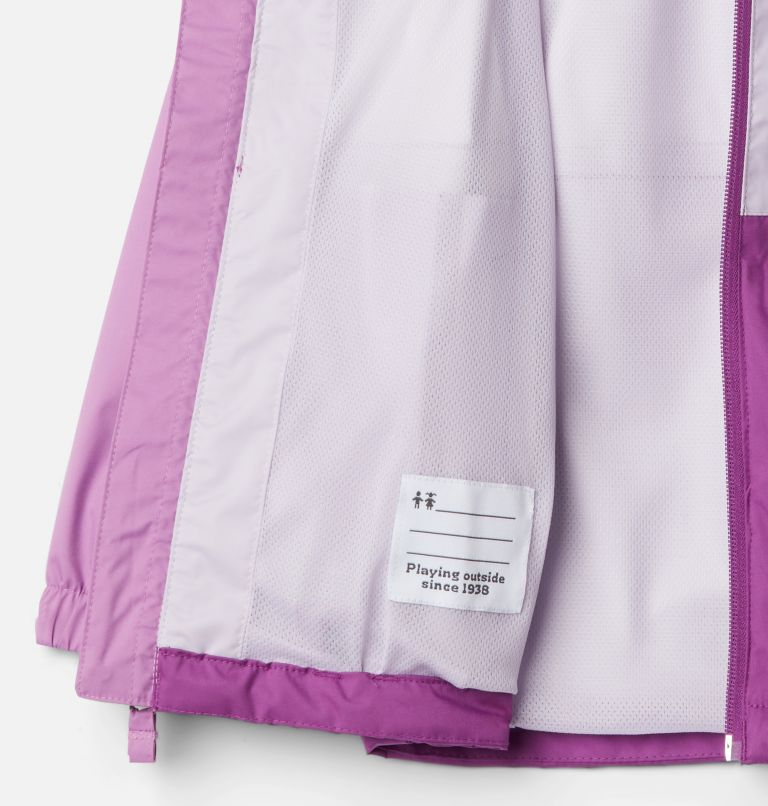 Dalby Springs™ Jacket | 621 | S Kids' Dalby Springs™ Jacket, Berry Jam, Pale Lilac, Blossom Pink, a1