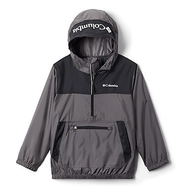 Coupe-vent Bloomingport™ Junior Bloomingport™ Windbreaker | 464 | L, City Grey, Black, front