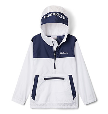 Giacca anti-vento Bloomingport™ ragazzo Bloomingport™ Windbreaker | 464 | L, White, Nocturnal, front