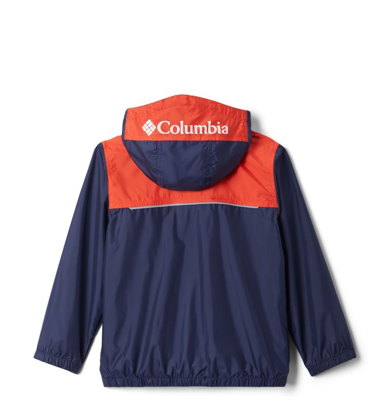 Bloomingport™ Windbreaker | 466 | XL Youth Bloomingport™ Windbreaker, Nocturnal, Bright Poppy, back
