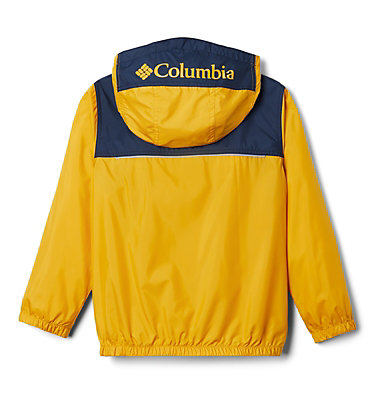 Giacca anti-vento Bloomingport™ ragazzo Bloomingport™ Windbreaker | 464 | L, Bright Gold, Collegiate Navy, back
