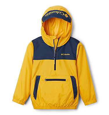 Giacca anti-vento Bloomingport™ ragazzo Bloomingport™ Windbreaker | 464 | L, Bright Gold, Collegiate Navy, front