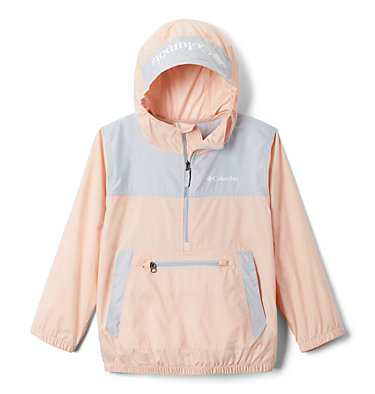 Giacca anti-vento Bloomingport™ ragazzo Bloomingport™ Windbreaker | 464 | L, Peach Cloud, Cirrus Grey, front