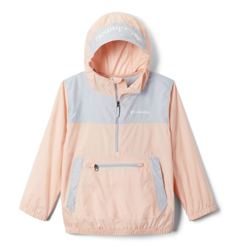 Bloomingport™ Windbreaker | 870 | XS Youth Bloomingport™ Windbreaker, Peach Cloud, Cirrus Grey, front