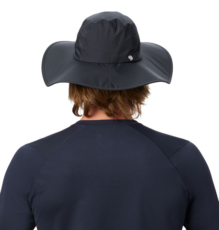 Exposure/2™ Gore-Tex® Paclite Rain Hat | 004 | O/S Exposure/2™ Gore-Tex® Paclite Rain Hat, Dark Storm, back