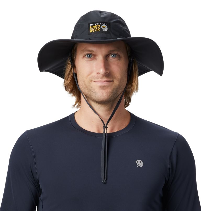 Exposure/2™ Gore-Tex® Paclite Rain Hat   004   O/S Exposure/2™ Gore-Tex Paclite® Rain Hat, Dark Storm, front