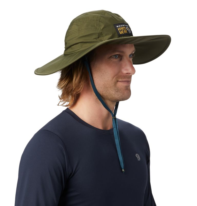 Exposure/2™ Gore-Tex® Paclite Rain Hat | 304 | O/S Exposure/2™ Gore-Tex Paclite® Rain Hat, Dark Army, a1