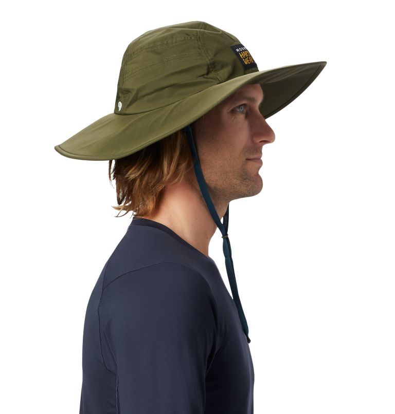 Exposure/2™ Gore-Tex® Paclite Rain Hat | 304 | O/S Exposure/2™ Gore-Tex Paclite® Rain Hat, Dark Army, a2