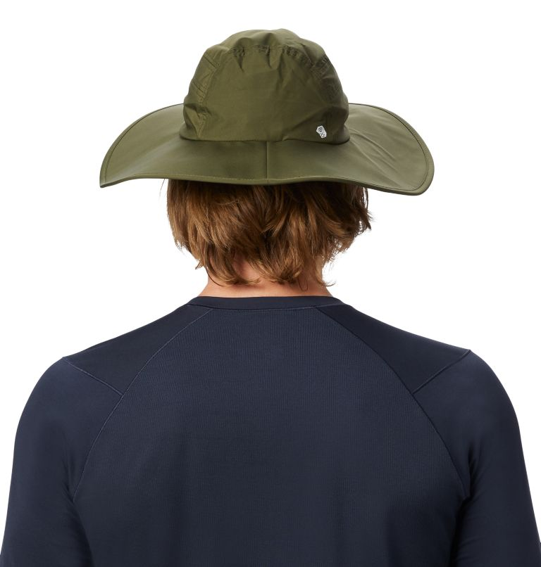 Exposure/2™ Gore-Tex® Paclite Rain Hat   304   O/S Exposure/2™ Gore-Tex Paclite® Rain Hat, Dark Army, back