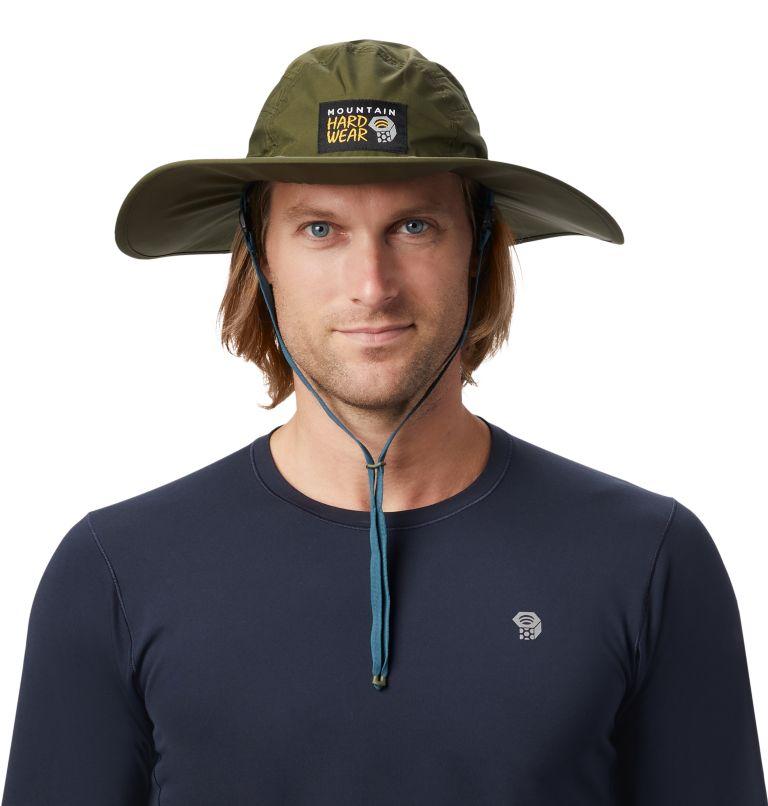 Exposure/2™ Gore-Tex® Paclite Rain Hat | 304 | O/S Exposure/2™ Gore-Tex Paclite® Rain Hat, Dark Army, front