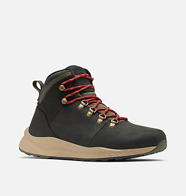 Botte Hiker imperméable  SH/FT™ Homme SH/FT™ WP HIKER | 010 | 7, Black, Red Velvet, 3/4 front