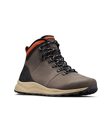 Men's SH/FT Waterproof Hiking Shoe SH/FT™ WP HIKER | 010 | 7, Dark Grey, Dark Adobe, 3/4 front