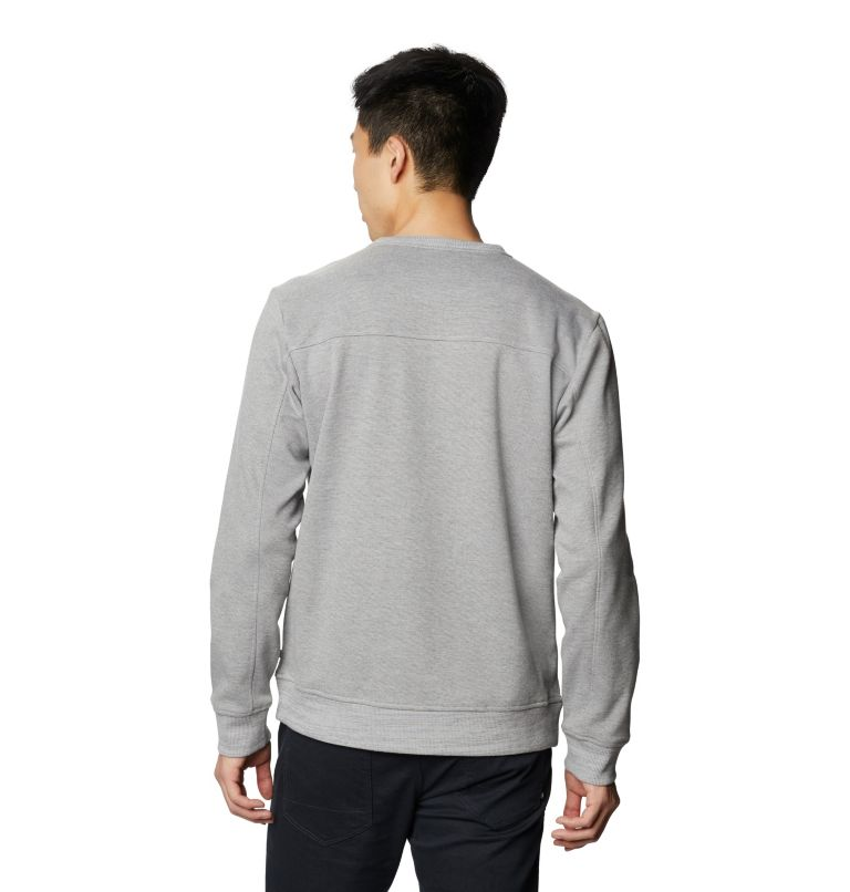 Firetower/2™ Crew | 073 | S Men's Firetower/2™ Crew, Manta Grey, back