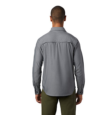 Men's Canyon Pro™ Long Sleeve Shirt Canyon Pro™ Long Sleeve Shirt | 451 | XL, Dark Storm, back