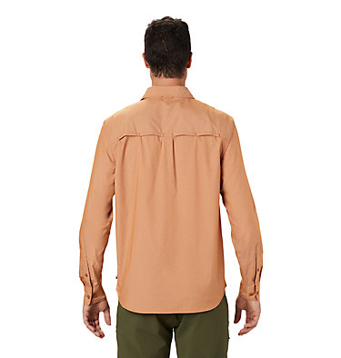 Men's Canyon Pro™ Long Sleeve Shirt Canyon Pro™ Long Sleeve Shirt | 451 | XL, Rust Earth, back