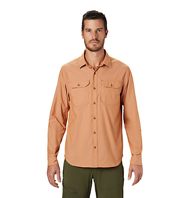 Men's Canyon Pro™ Long Sleeve Shirt Canyon Pro™ Long Sleeve Shirt | 451 | XL, Rust Earth, front