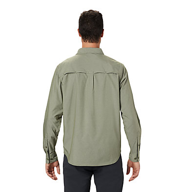 Men's Canyon Pro™ Long Sleeve Shirt Canyon Pro™ Long Sleeve Shirt | 451 | XL, Dark Army, back