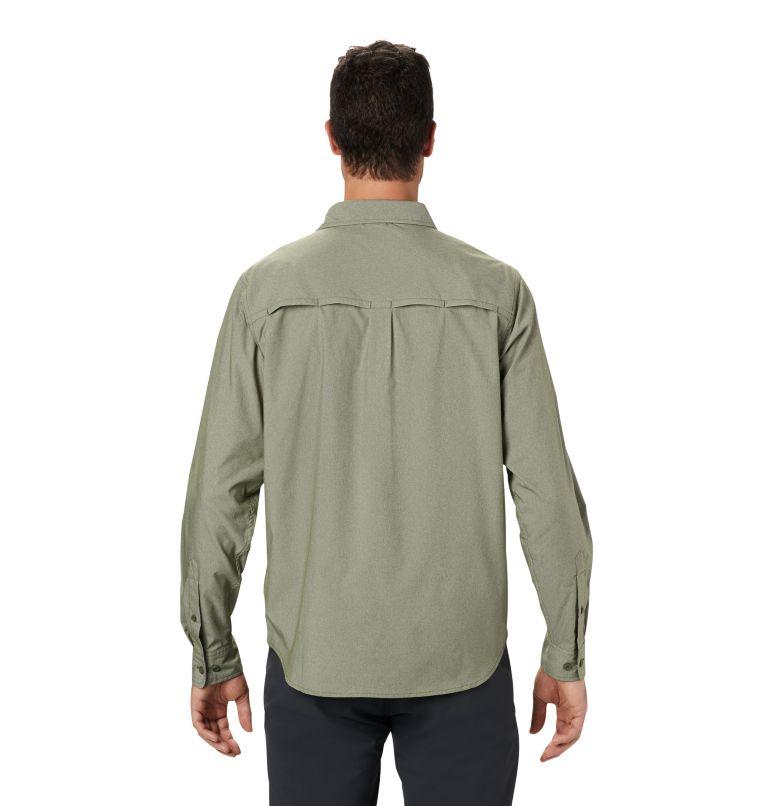 Canyon Pro™ Long Sleeve Shirt   304   S Men's Canyon Pro™ Long Sleeve Shirt, Dark Army, back
