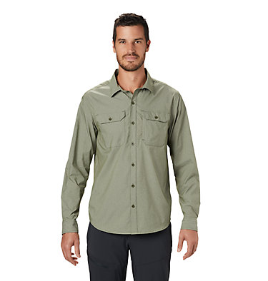 Men's Canyon Pro™ Long Sleeve Shirt Canyon Pro™ Long Sleeve Shirt | 451 | XL, Dark Army, front