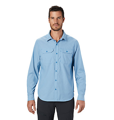 Men's Canyon Pro™ Long Sleeve Shirt Canyon Pro™ Long Sleeve Shirt | 451 | XL, Deep Lake, front